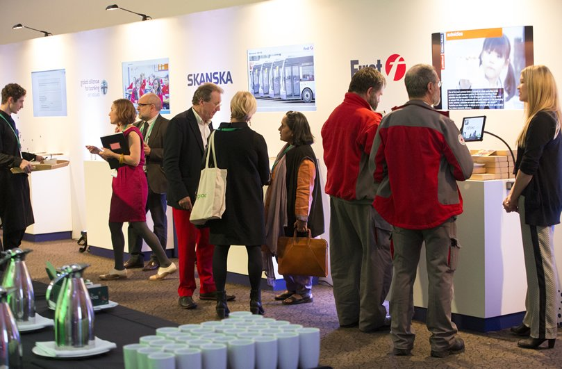Exhibitors at the Bristol Business Summit, delivered by Focal Point