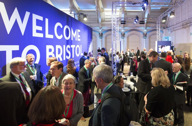 Welcome reception at the Bristol Business Summit, delivered by Focal Point
