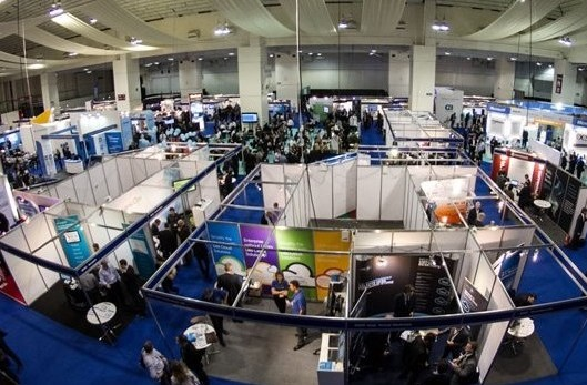 Overview of the exhibition at the Cloud World Forum, delivered by freelance event manager Thomas Heiser