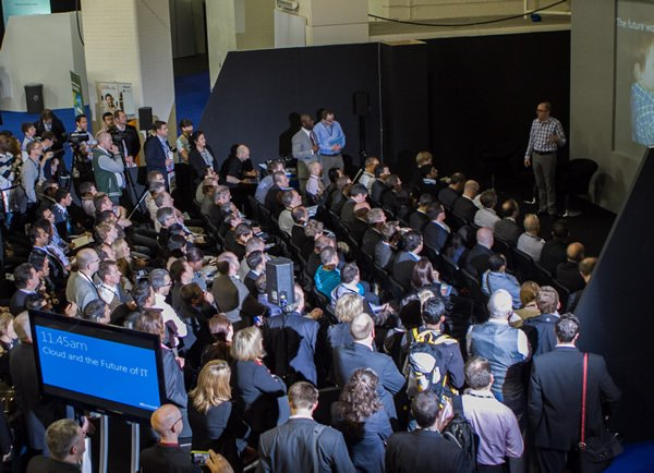 An audience at the Cloud World Forum, organised by Focal Point