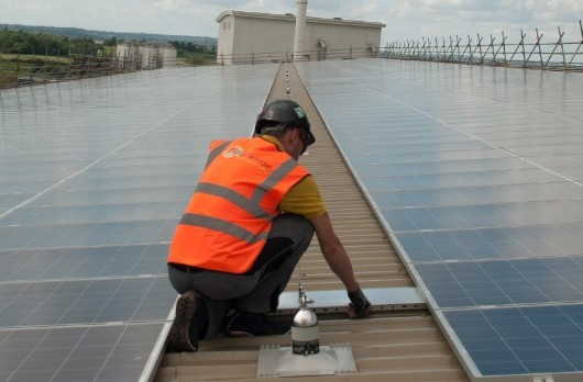 Solar installation by Solarsense, photo by Focal Point