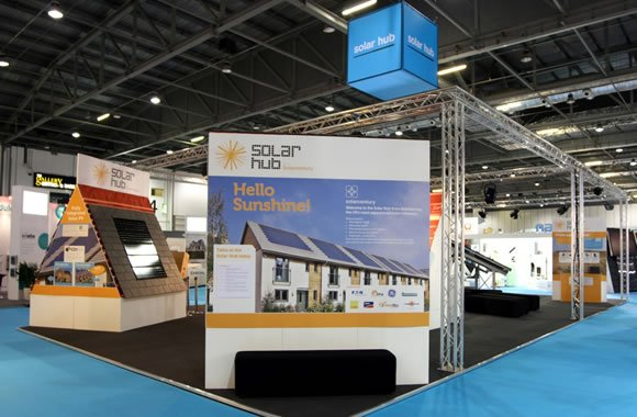 The Ecobuild Solar Hub, designed and delivered by Focal Point