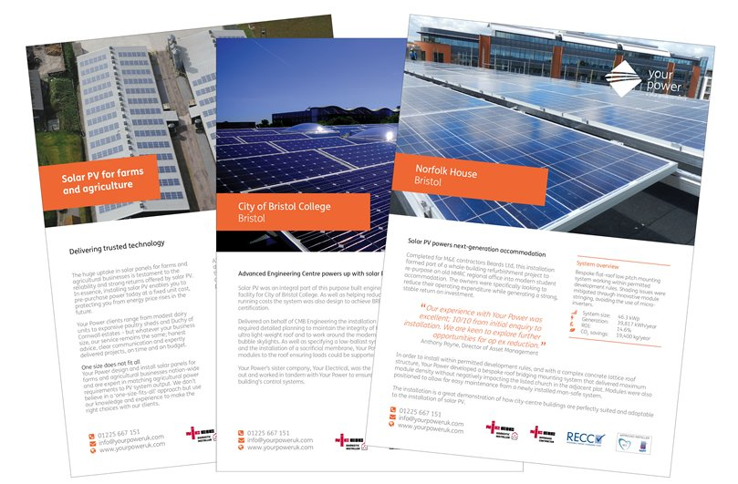 Your Power case studies designed by Focal Point