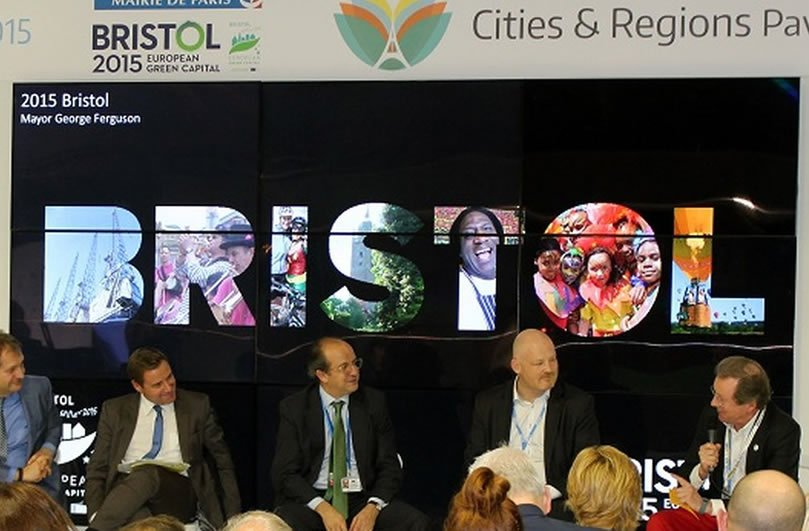 An ICLEI discussion at COP21 Paris