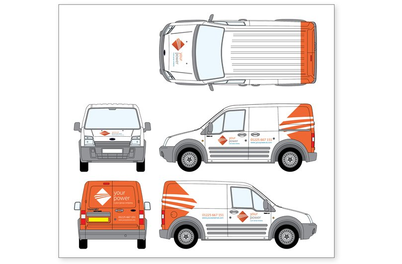 Vehicle livery design from Focal Point