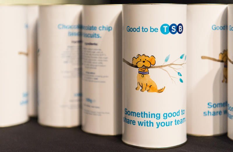 Biscuits at Good to be TSB conference