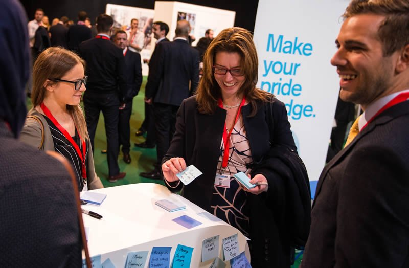 Partner pledges at Good to be TSB conference