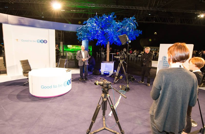 Live studio at Good to be TSB conference
