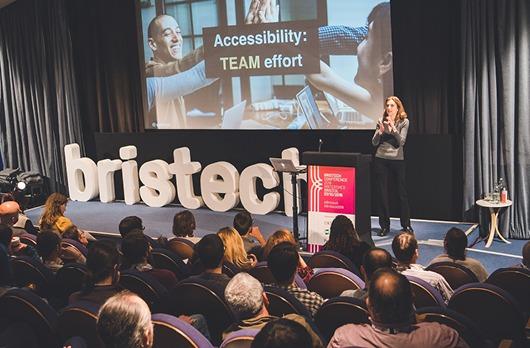 Speaker at Bristech Conference 2019
